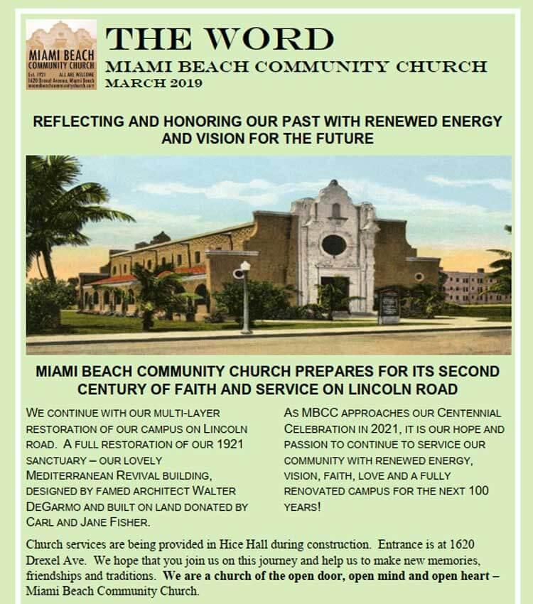 Miami-community-Church-Newsletters-the-world-03152019